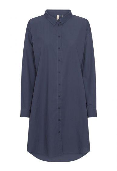 Skjortekjolen - den i vintage blå
