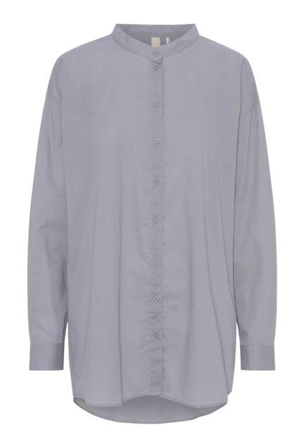 Skjorten – den oversize i himmelgrå