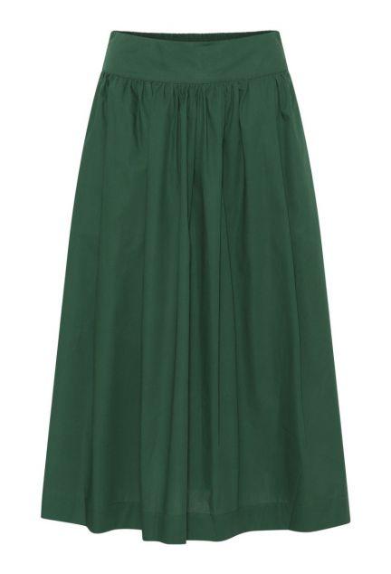 Nederdelen – den lange i grøn