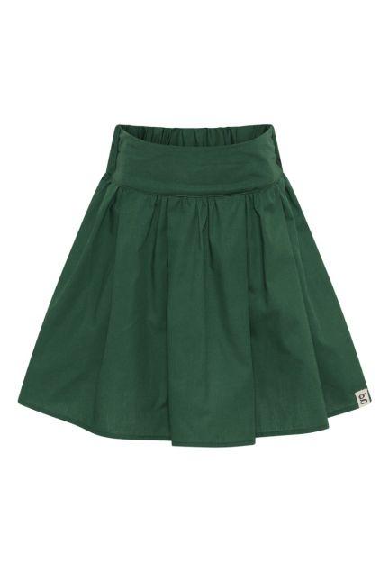 Nederdelen mini – den i grøn