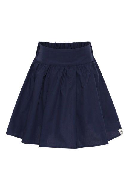 Nederdelen mini – den i midnatsblå
