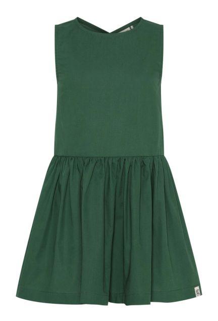 Kjolen mini – den med knapper i grøn