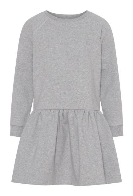 Sweatkjolen mini – den i grå melange