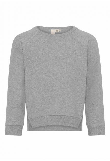 Sweatshirten mini – den i grå melange