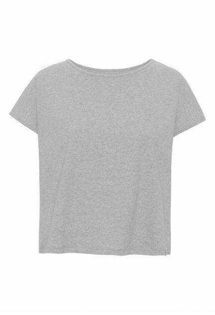 T-shirten – den korte i grå melange