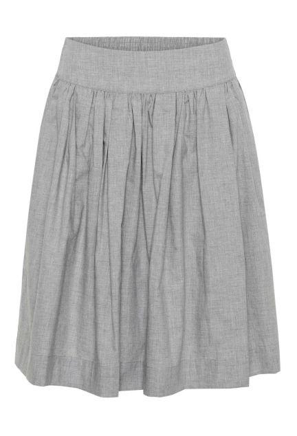 Nederdelen - den i grå melange