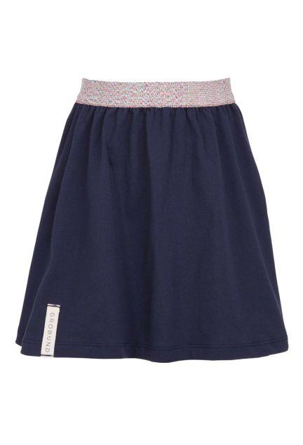 Nederdelen mini – den i blå
