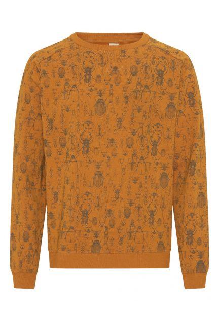 Sweatshirten herre – den i gylden med print