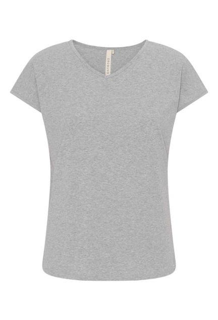 T-shirten – den i grå melange