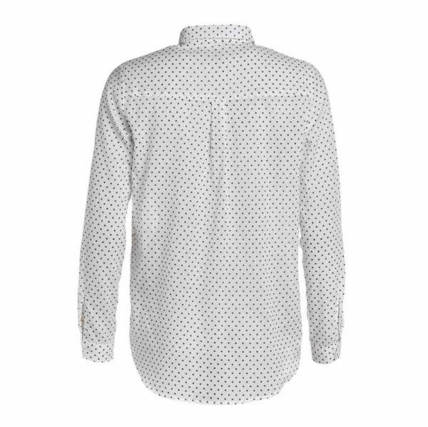 Den med prikkerne fra GROBUND. En økologisk skjorte, GOTS certificeret og bæredygtig