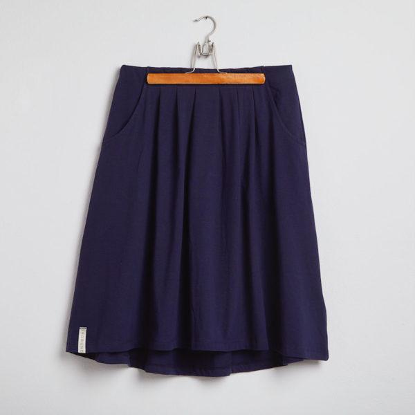 Nederdelen - den blå fra GROBUND økologisk og certificeret med GOTS