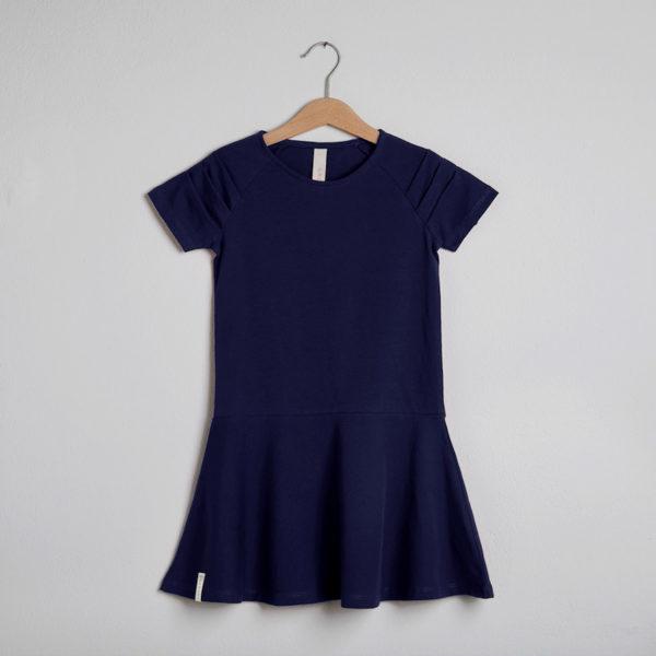 Kjolen mini - den med detaljen i blå
