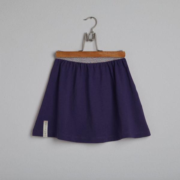 GROBUND nederdelen mini i mørk blå
