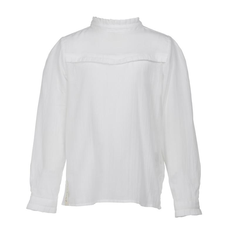 Skjorten mini - den i hvid