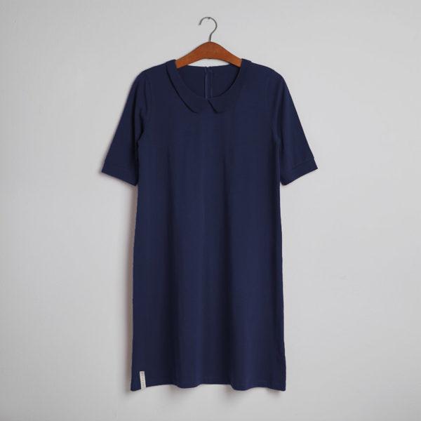 Kjolen - den med kraven i blå