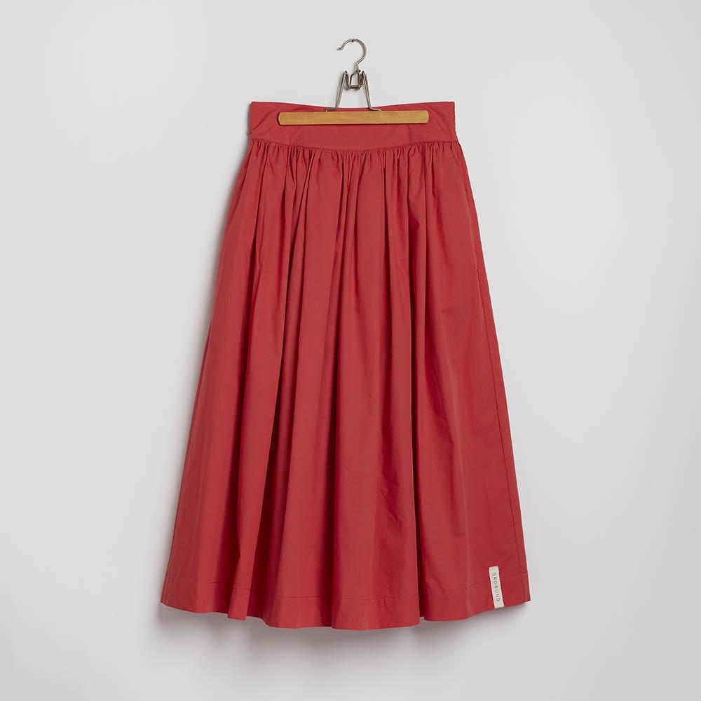 GROBUNDs nederdel i ribsfarve